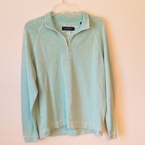 Tommy  Bahama 1/4 zipper sweater  L size